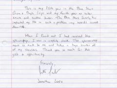 Alumni Scholarship Letters