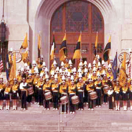 Sky Ryders at the Reno County Courthouse 1964