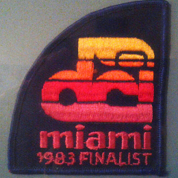 DCI Championships Patch - 1983