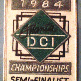 DCI Championships Patch - 1984