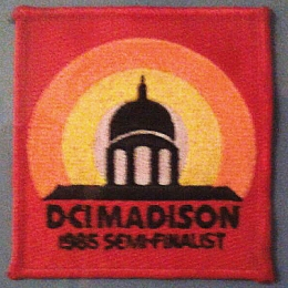 DCI Championships Patch - 1985