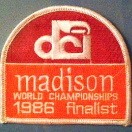 DCI Championships Patch - 1986
