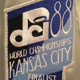 DCI Championships Patch - 1988