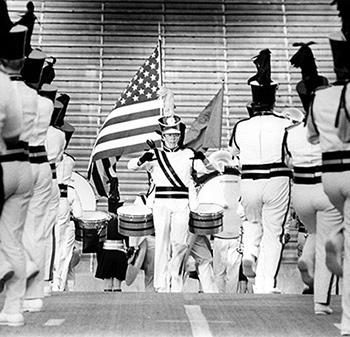 Drum Major Conducting - 1975