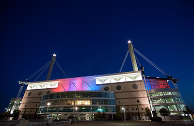 Alamodome in San Antonio, Texas